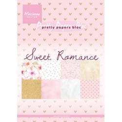 MARIANNE D PAPER PAD SWEET ROMANCE, 15x21 cm
