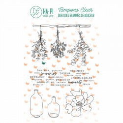 HA-PI LITTLE FOX Tampon Clear JOLIS BOUQUETS