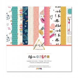 "PaperNova DESIGN COLLECTION ""Life in Color"" 30,5 x 30,5 cm"