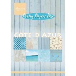 MARIANNE D PAPER PAD COTE D'AZUR, 15x21 cm