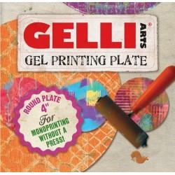 GELLI ARTS GEL PRESS PLATE -CERCLE 10.2 cm