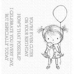 MFT RAM BIRTHDAY CUTIE CLEAR STAMPS