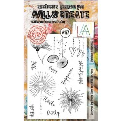 AALL AND CREATE STAMP CLEAR -177