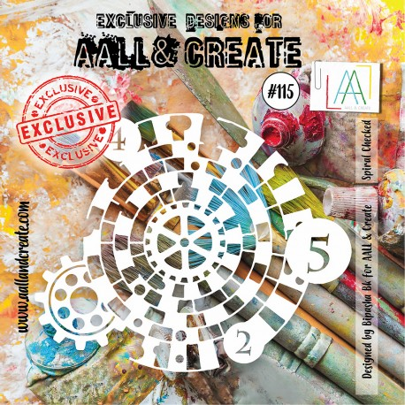AALL AND CREATE STENCIL - 115