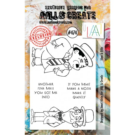 AALL AND CREATE STAMP CLEAR -474