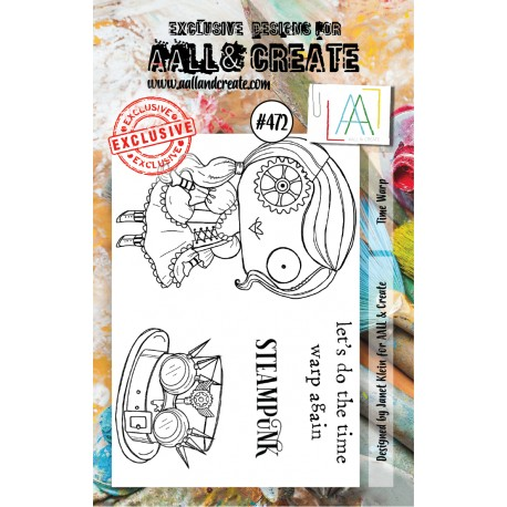 AALL AND CREATE STAMP CLEAR -472