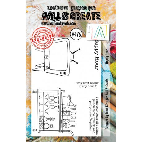 AALL AND CREATE STAMP CLEAR -476