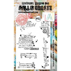 AALL AND CREATE STAMP CLEAR -457