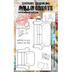 AALL AND CREATE STAMP CLEAR -461