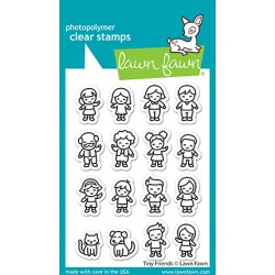 LAWN FAWN CLEAR STAMPS TINY FRIENDS