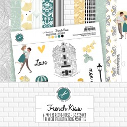 Mes P'tits Ciseaux - Collection FRENCH KISS