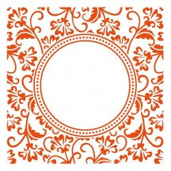 Marianne D Embossing folder Anja`s circle DF3425 15.3 X 15.3 CM