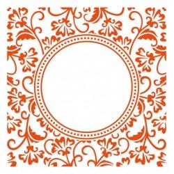 Marianne D Embossing folder Anja`s circle DF3425 15.3 X 15.3 CM