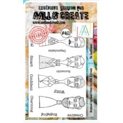 AALL AND CREATE STAMP CLEAR -463