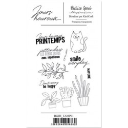 BEATRICE GARNI - CLEAR STAMPS JOURS HEUREUX 1