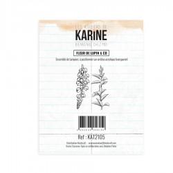 """LES ATELIERS DE KARINE """"BIENVENUE CHEZ MOI"""" Tampon Clear LUPIN"""