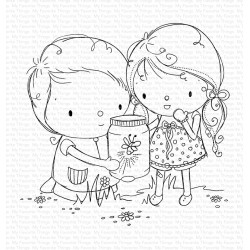 MFT FIREFLY FRIENDS CLEAR STAMPS