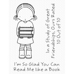 MFT READ ME LIKE A BOOK CLEAR STAMPS
