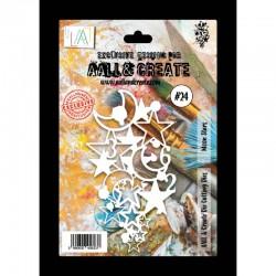 """AALL AND CREATE DIES 024 """"MOON STARS"""""""