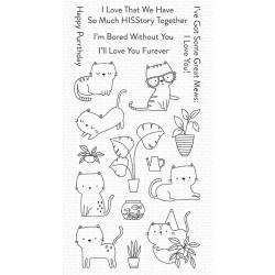 MFT HOUSECATS CLEAR STAMPS