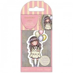 GORJUSS MINI RUBBER STAMP I WISH 73