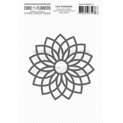 CHOU & FLOWERS MASQUE ROSACE 2 VOYAGE IMAGINAIRE
