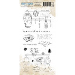 CHOU & FLOWERS TAMPONS CLEAR MEDITATION VOYAGE IMAGINAIRE