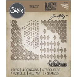 SIZZIX THINLITS TIM HOLTZ MIXED MEDIA