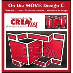 Crealies ON THE MOVE DESIGN C