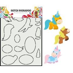 Dutch Doobadoo Card Art Built up HORSE