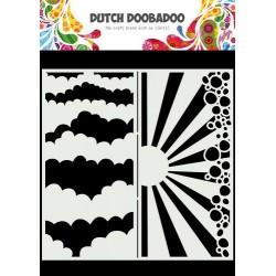 Dutch Doobadoo Mask Art SLIMLINE WOLKEN