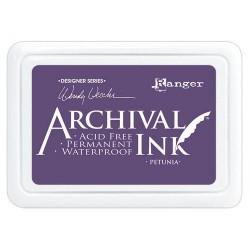 RANGER ARCHIVAL INK PETUNIA Wendy Vecchi