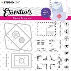 Studio Light Stamp & Cutting Die Essentials nr.55 A6