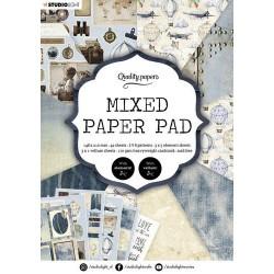 Studio Light Mixed Paper Pad Pattern paper Essentials nr.162 A5