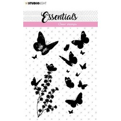 Studio Light Clear Stamp Butterflies Essentials nr.23