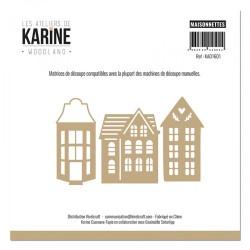 """LES ATELIERS DE KARINE """"WOODLAND"""" DIES MAISONNETTES"""