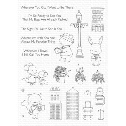 MFT SY Travel Plans CLEAR STAMPS
