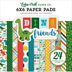 My favorite Things DINO AND FRIENDS PAPER PACK 15X15 CM