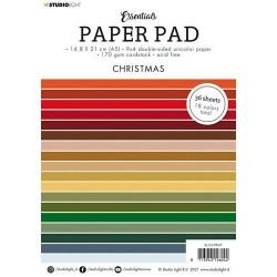 Studio Light Paper pad Essentials Christmas nr.7 , A5