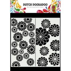 Dutch Doobadoo Mask Art SLIMLINE FLOWERS