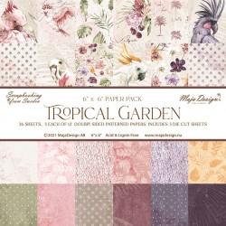 MAJA DESIGN Tropical Garden - 6X6 Paper Pad