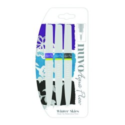 NUVO AQUA FLOW PENS WINTER SKIES