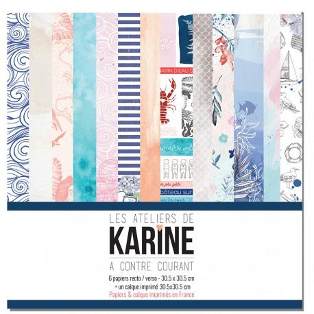 """LES ATELIERS DE KARINE """"A CONTRE COURANT"""" COLLECTION PACK"""