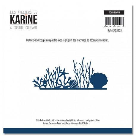 """LES ATELIERS DE KARINE """"A CONTRE COURANT"""" DIES FOND MARIN"""