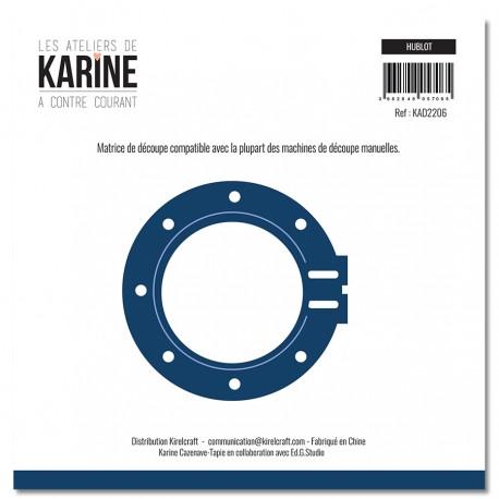 """LES ATELIERS DE KARINE """"A CONTRE COURANT"""" DIES HUBLOT"""