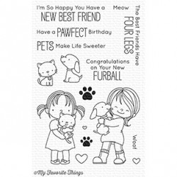 My favourite Things :NEW BEST FRIEND CLEAR STAMPS