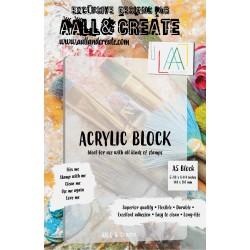 AALL & CREATE - ACRYLIC BLOCK A5