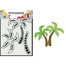 Dutch Doobadoo Card Art PALM TREE