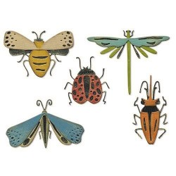 SIZZIX THINLITS FUNKY INSECTS