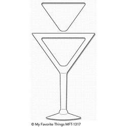 My favourite Things :DIES MARTINI SHAKER WINDOW AND FRAME